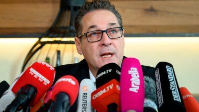 Strache-Comeback nimmt Gestalt an: Eigene Liste wäre sicher im Wiener Gemeinderat