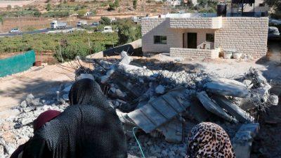 Israel genehmigt 2300 neue Siedler-Wohnungen im besetzten Westjordanland