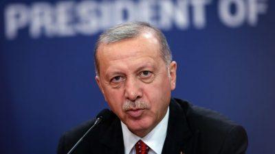"""Erdogan droht USA: """"Falls erforderlich"""" werde ich zwei US-Stützpunkte schließen"""