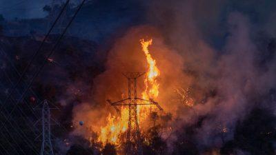 Waldbrände Kalifornien: Feuer breitet sich explosionsartig aus – zwei Menschen sterben
