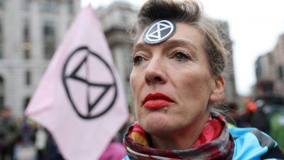 Großbritannien: Extinction Rebellion blockiert Presse – Bald als kriminelle Vereinigung eingestuft?