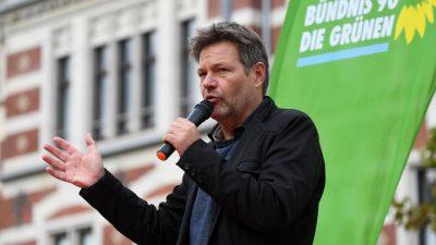 Grüne am Ziel: Habeck fordert Forcierung der klimafinanzierten Zuwanderung