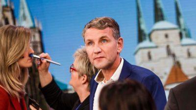 Nach MDR-Eklat: Wiebke Binder interviewt Höcke in ARD-Wahlsendung ohne Widerworte