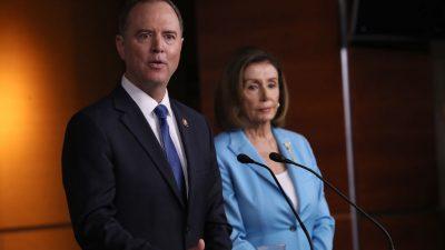 Untersuchung zur Amtsenthebung gegen Trump – Kein faires Verfahren unter Vorsitz der Demokraten
