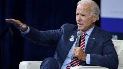 """Sichtlich emotional: Joe Biden tadelt Reporter nach Frage zur """"Ukraine-Affäre"""""""