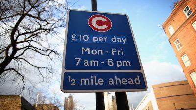 Die große Abzocke der großen Städte: London verlangt City-Maut + Abgasgebühren