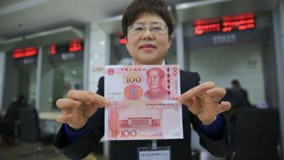 Ifo-Studie: Warum wertet China seinen Yuan ab? Die Abwertung bringt bis zu rund 34 Mrd. Euro Verluste