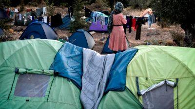 Lager restlos überfüllt: Krawalle in griechischem Migrantenlager auf Samos