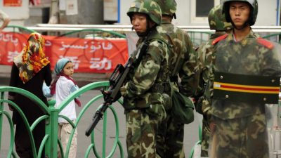 Grüne kritisieren Desinteresse der Bundesregierung an Menschenrechtsverletzungen in China