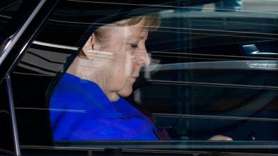 Merkels Geheimniskrämerei in Rundfunk und Presse