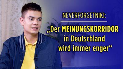 """""""Neverforgetniki"""" über sein Buch: """"Mein Weckruf für Deutschland"""""""