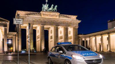Berlin: 300 Polizisten unter Quarantäne – Überwachung der Pandemie-Auflagen derzeit Kernaufgabe der Polizei