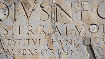 Inschrift enthüllt üppiges Leben Pompejis in den letzten Jahren vor dem Untergang