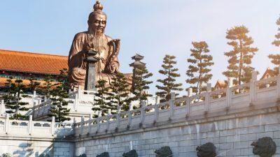 Wird der Staat mit leichter Hand regiert – Von Lao-Tse