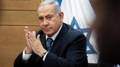 Netanjahu unterbricht Wahlkampfaufritt wegen Raketenangriff aus dem Gazastreifen