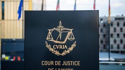 Schwere Niederlage vor EU-Gericht für Spanien im Katalonien-Streit