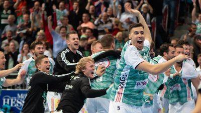 Hannovers Handballer werfen Meister Flensburg aus dem Pokal