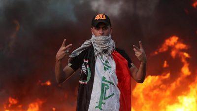 Eskalation im Irak – Polizei erschießt Demonstranten bei Sturm auf iranisches Konsulat