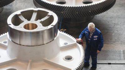 Bestellungen bei Maschinenbauern brechen um 17 Prozent ein