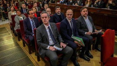 9 – 13 Jahre Haft: Katalanen-Anführer schuldig gesprochen