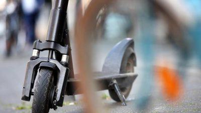 E-Tretroller sollen im Winter auf Berliner Straßen bleiben