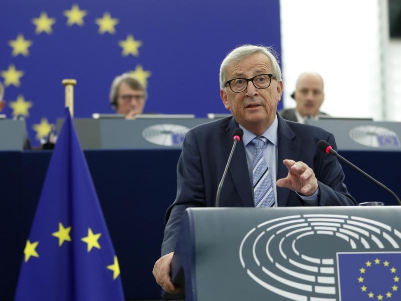 """Juncker zum Abschied: """"Bekämpft den dummen Nationalismus"""" – """"Es lebe Europa!"""""""
