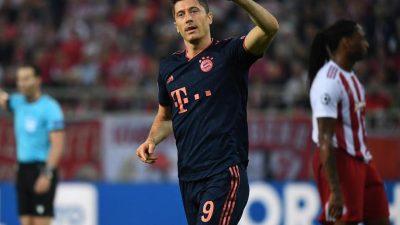 3:2! Bayern dreht in Piräus Partie gegen Olympiakos
