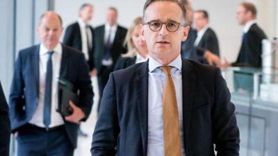 Maas: AKKs Syrien-Plan kam zum falschen Zeitpunkt