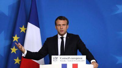 """Macron kündigt in Neujahrsansprache an: """"Die Rentenreform wird zu Ende gebracht"""""""