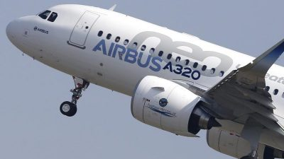 USA erhöhen Strafzölle auf Airbus-Maschinen auf 15 Prozent