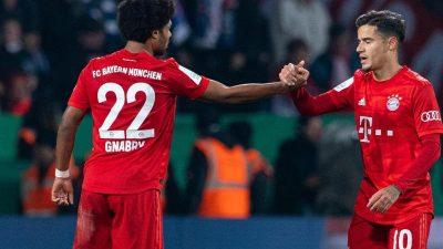 Bayern wenden Blamage ab:Glücklicher Sieg in Bochum