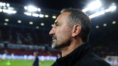 Nach Kölner Aus: Trainer Beierlorzer unter Druck