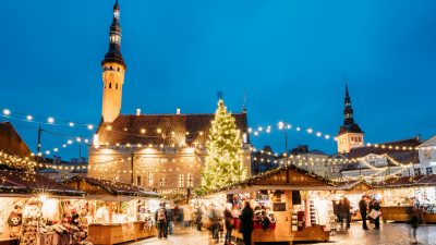 Die sieben schönsten Weihnachtsmärkte Europas