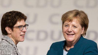 """Politologe Patzelt: AKK ist """"ein Opfer der Politik ihrer Vorgängerin als Parteivorsitzende"""""""