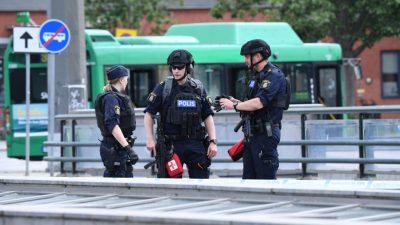 Schweden: Anschläge und Schießereien werden vielerorts zum großstädtischen Alltag