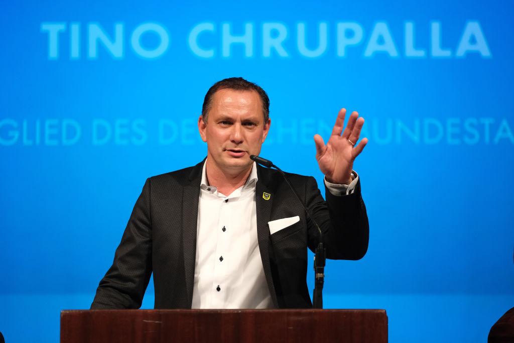 AfD-Bundesvorsitzender Chrupalla: Bürger wollen Regierung aus CDU und AfD