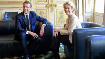 """Von der Leyen: """"Welt braucht unsere Führung"""" – Macron will diese nicht den Deutschen überlassen"""