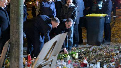 Maas und Pompeo: Erst Blechschaden, dann Besuch des Tatorts in Halle