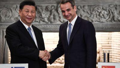 """""""Es ist eine neue Ära in unseren Beziehungen"""": Griechenland verstärkt Handel mit China"""