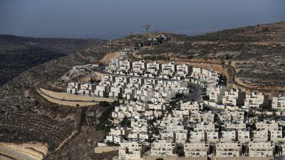 Siedlungsbau im Westjordanland: EU geht auf Distanz zu den USA
