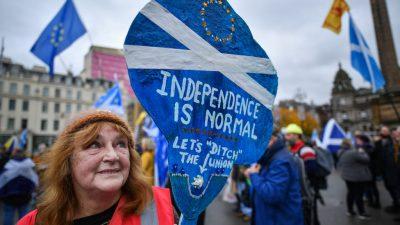 Wegen Brexit: Sturgeon fordert neues Referendum über Unabhängigkeit Schottlands