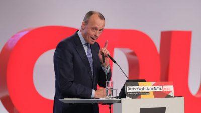 """Grundbotschaft von CDU und CSU: """"Keine Steuererleichterung im Moment"""""""