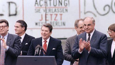 Berlins Linkskartell will Reagan-Statue verhindern – nun bekommt die Stadt trotzdem eine