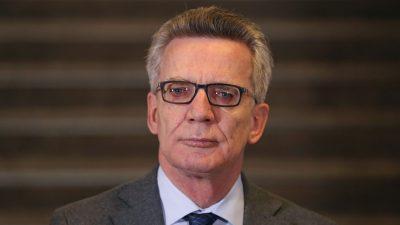 De Maizière wird Präsident des Evangelischen Kirchentags in Nürnberg
