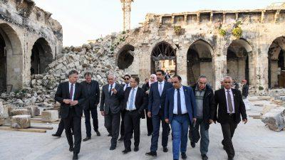 """AfD-Delegation in Syrien: """"Rückkehr zur Diplomatie erleichtert Rückführung von 770000 Flüchtlingen"""""""