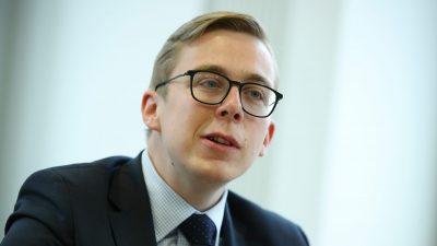 Nach Lobbyismus-Debatte: Amthor kandidiert nicht für CDU-Spitze in Mecklenburg-Vorpommern