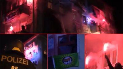 Berlin, Rigaer Straße: FDP fordert Drohnen-Einsatz – Linksextremisten verletzten 16 Polizeibeamte