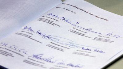 Unionspolitiker gratulieren neuer SPD-Spitze und fordern zu GroKo-Fortsetzung auf