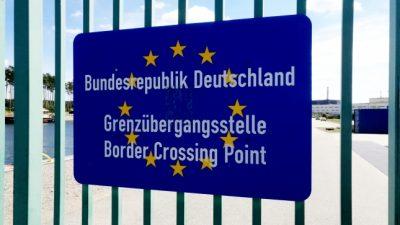 Hohe Zahl von Menschen mit Wiedereinreisesperren an deutschen Grenzen