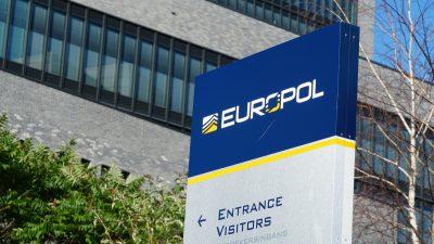 Europol: 150 Festnahmen bei Schlag gegen Darknet-Kriminalität